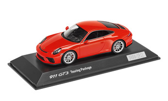 Model Car Display Case 220 00 911 Gt3 Touring Package Lava Orange 1 43 Limited Edition