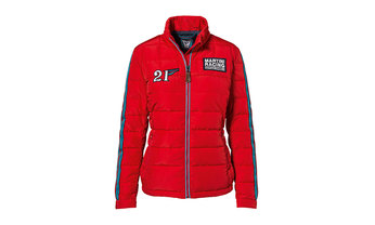 MARTINI RACING Kollektion, Steppjacke, Damen, rot