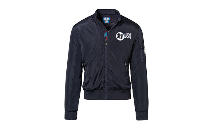 Reversible Jacket, Unisex, dunkelblau - MARTINI RACING